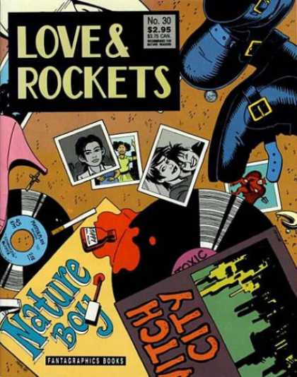 Love & Rockets 30 - Photographs - Shoes - Nail Polish - Boots - 45s