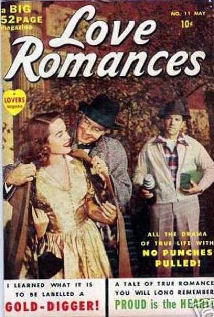 Love Romances 11 - Gold Digger - Vintage - Love - Couple - Lovers
