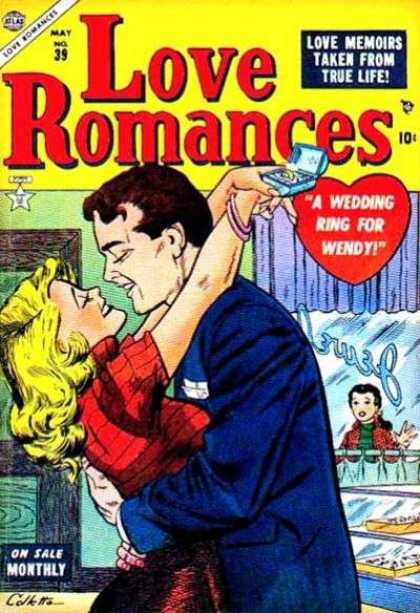 Love Romances 39 - Jewelry Store - Wedding Ring - Memoirs - True Life - Engagement