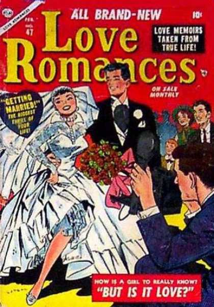 Love Romances 47 - Wedding - Bride - Groom - Camera - Bouquet