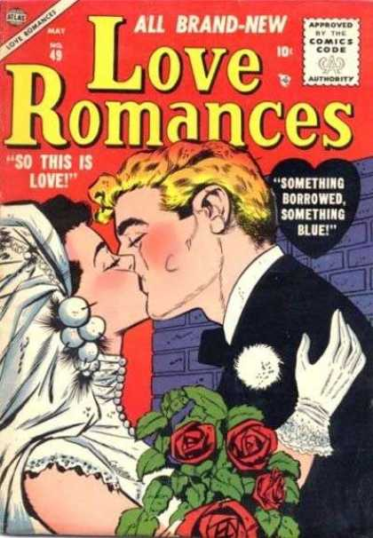 Love Romances 49 - Kiss - Bride - So This Is Love - Groom - Tuxedo