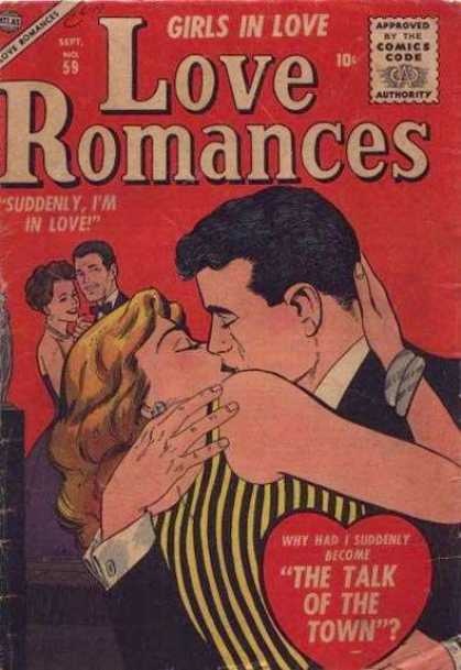 Love Romances 59 - Kiss - Dancing - The Talk Of The Town - Tuxedo - Dress