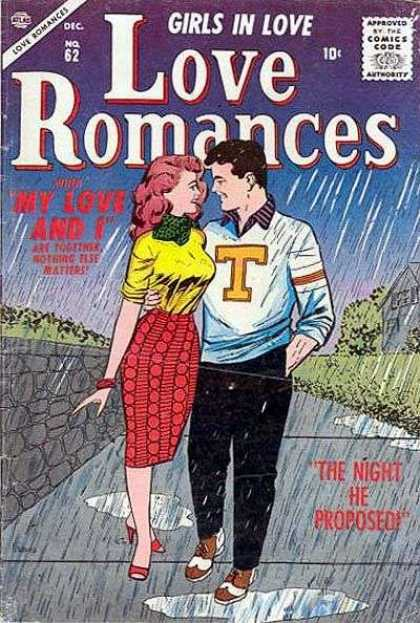 Love Romances 62 - Love Romances - Girls In Love - My Love And I - The Night He Proposed - Together Nothing Else Matters
