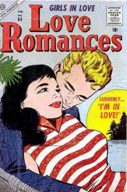 Love Romances 64 - Man - Woman - Stripes - Collar - Tree