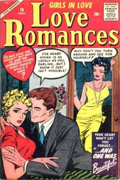 Love Romances 78 - Blonde - Brunette - Woman - Man - Dressed Up