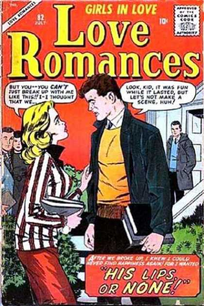 Love Romances 82 - Love - School - Break Up - Jacket - Fun
