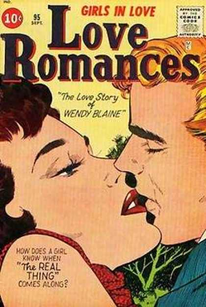 Love Romances 95 - Girls In Love - 95 - Sept - The Love Story Of Wendy Blaine - Wendy Blaine