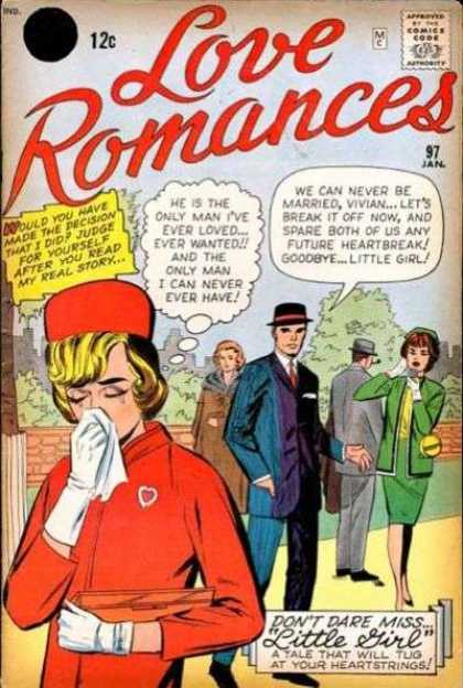 Love Romances 97 - Loved - Wanted - Goodbye - Story - Man - Jack Kirby