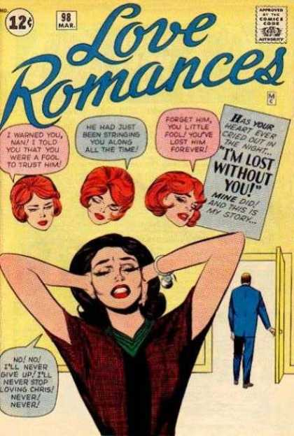 Love Romances 98 - Jack Kirby