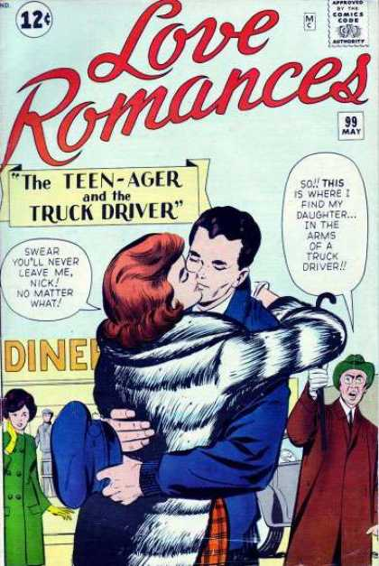 Love Romances 99 - Jack Kirby