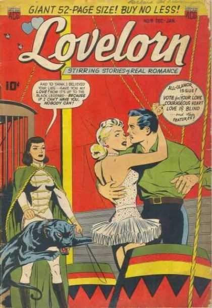 Lovelorn 9 - Love Is Blind - Black Panther - Circus - Cage - Acrobat
