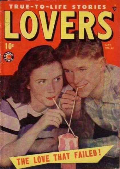 Lovers 23 - The Love That Failed - One Young Man - One Young Girl - Good Looking Eyes - Good Smile