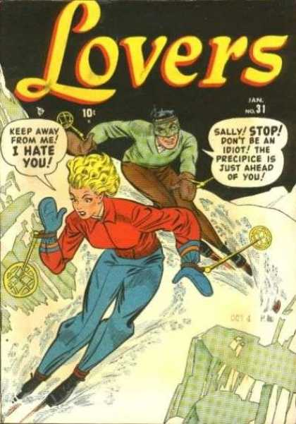 Lovers 31 - Keep Away From Me - Sally - Stop - Woman - Man
