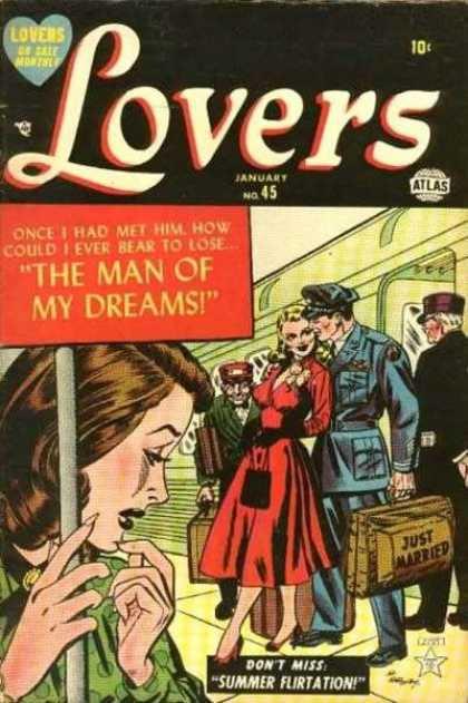 Lovers 45 - Soldier - Just Married - Suitcase - The Man Of My Dreams - Summer Flirtation