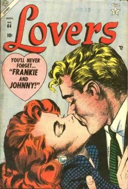 Lovers 64 - Frankie - Johnny - Kissing - Man - Woman