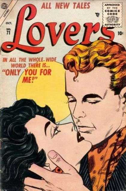 Lovers 71 - Lady With Romance - Man With Some Felling - Only For You - You And Me - Last Love