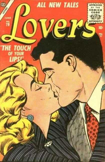 Lovers 79 - The Touch Of Your Lips - All New Tales - Kiss - Earrings - Hug