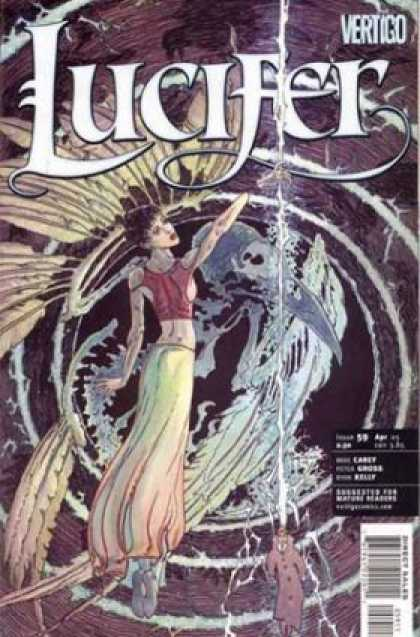 Lucifer 59 - Satan - Demon - Swirl - Vortex - Wings - Michael Kaluta