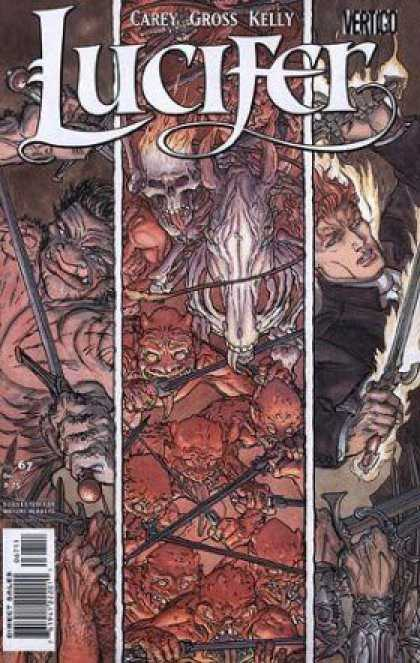 Lucifer 67 - Carey Gross Kelly - Monster - Sword - Skull - Flame - Michael Kaluta