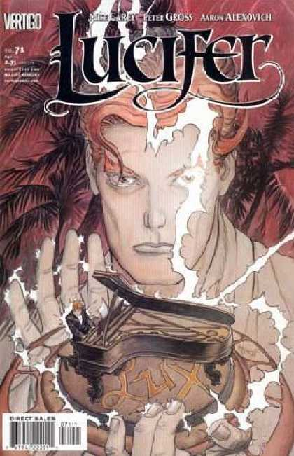 Lucifer 71 - Piano - Lightning - Palm Tree - Evil - Lux - Michael Kaluta