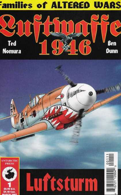 Luftwaffe 1946 1 - World War Ii - Dogfighters - Nazi Planes - Issue 1 - Antarctic Press