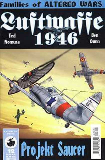 Luftwaffe 1946 12 - Ted Nomura - Ben Dunn - Airplane - Projekt Saucer - Fire Fight