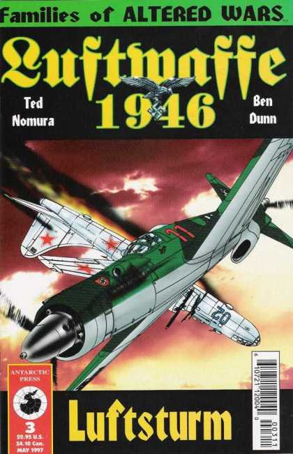 Luftwaffe 1946 3 - Families Of Altered Wars - Ted Nomura - Ben Dunn - Luftmatte - Luftsturm
