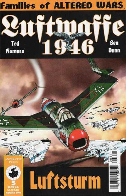 Luftwaffe 1946 5 - Altered Wars - Ted Nomura - Ben Dunn - Airplanes - Luftsturm