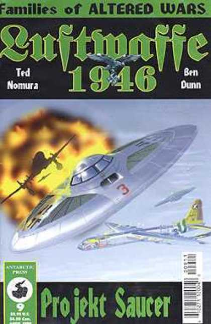 Luftwaffe 1946 9 - Families Of Altered Wars - Nomura - Dunn - Projekt Saucer - Explosion
