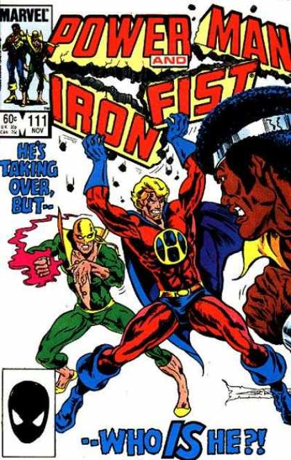 Luke Cage: Power Man 111 - Power Man - Iron Fish - Hes Taking Over But - Who Is He - Fighting
