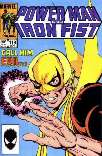 Luke Cage: Power Man 119 - Spiderman - Marvel Comics - Iron Fist - Evil - Mask