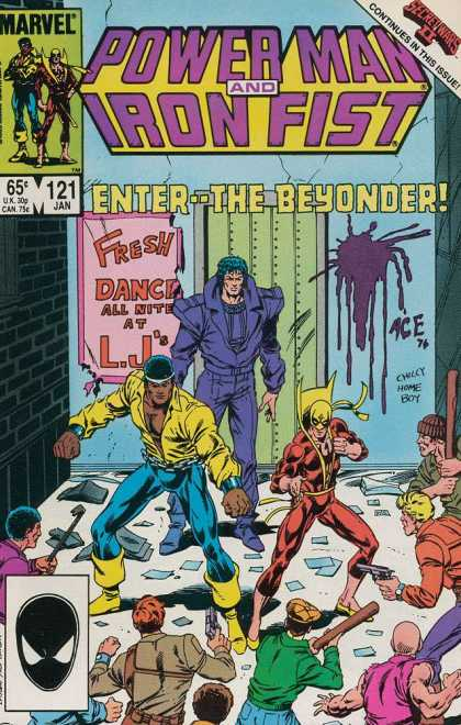 Luke Cage: Power Man 121