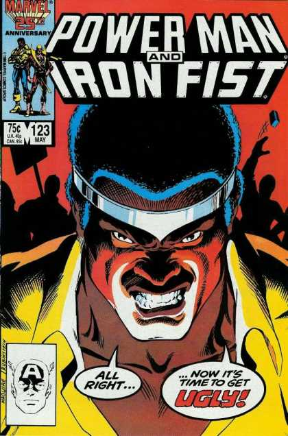 Luke Cage: Power Man 123 - 25th Anniversary - Marvel - May - Iron Fist - 75 Cents