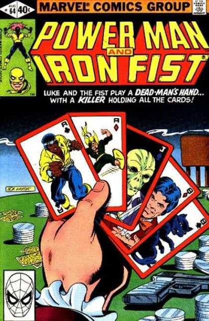 Luke Cage: Power Man 64 - Danny Rand - Iron Fist - Heroes For Hire - Luck And Death - New York