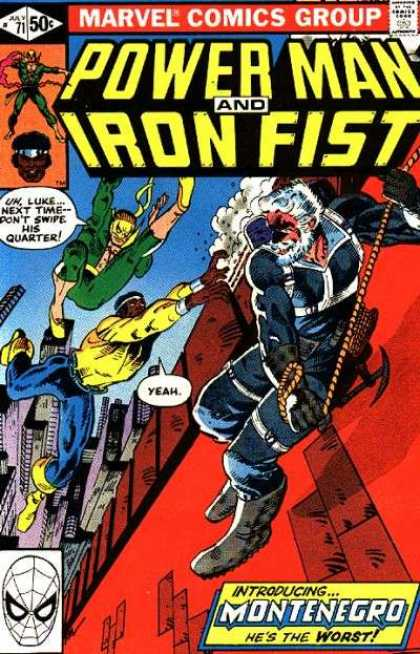 POWERMAN AND IRON FIST 61  MARVEL COMICS NETFLIX TV SERIES