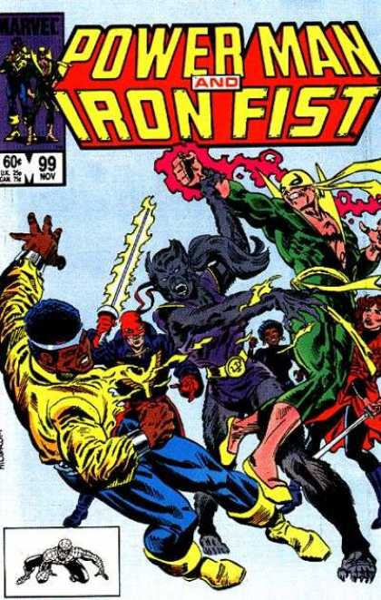 Luke Cage: Power Man 99 - Iron Fist - Wolf - Fight - Battles - Super Heroes