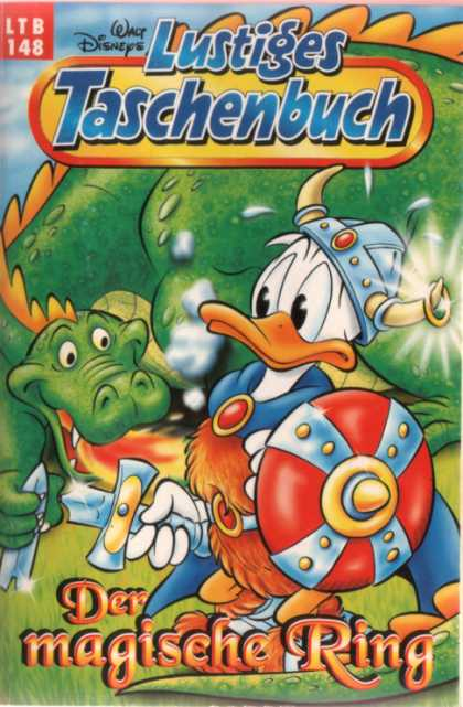 Lustiges Taschenbuch Neuauflage 148 - Walt Disney - Donald Duck - Dragon - Viking - Magical Ring