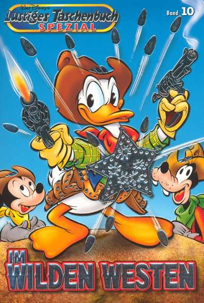 Lustiges Taschenbuch Spezial 10 - Sheriff Donald - Donald Duck The Cowboy - Shooter Duck - The Cowduck - The Fastest Duck Of The West