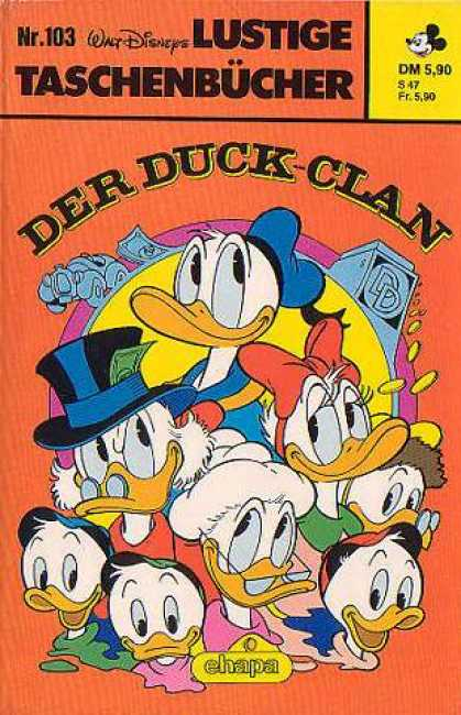 Lustiges Taschenbuch 103 - Walt Disney - Donald Duck - Daisy Duck - Uncle Scrooge - Huey Duey And Louie