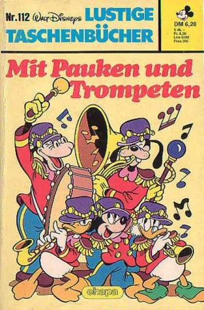 Lustiges Taschenbuch 112 - Disney Magic - Cartoon Fun - Comic - Musical Frolic - Happy Reading
