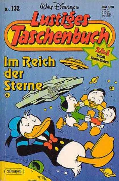 Lustiges Taschenbuch 134 - Walt Disney - Space Ships - Donald Ducks Nephews - Donald Duck - Planet