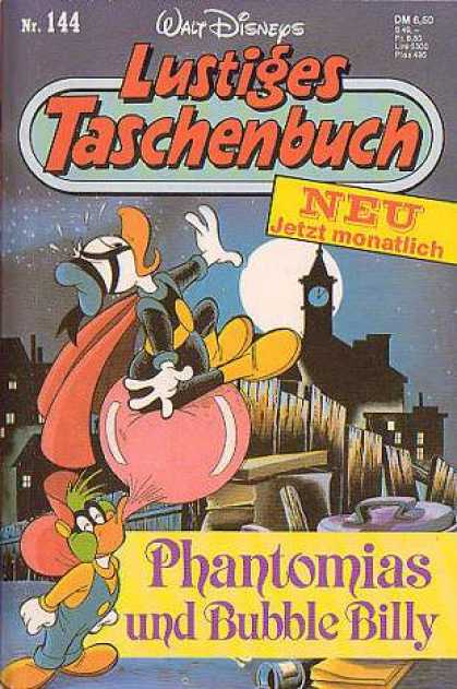 Lustiges Taschenbuch 146 - Donald Duck - Clock Tower - Moon - Bubble Billy - Phantomias