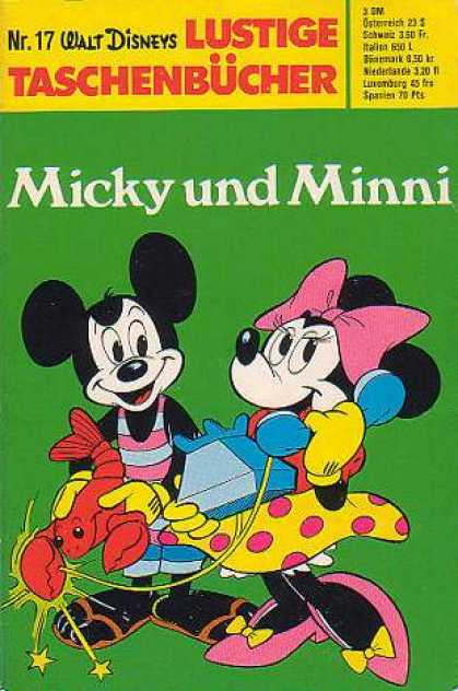 Lustiges Taschenbuch 17 - Walt Disney - Micky Mouse - Minni Mouse - Animation - Cartoon