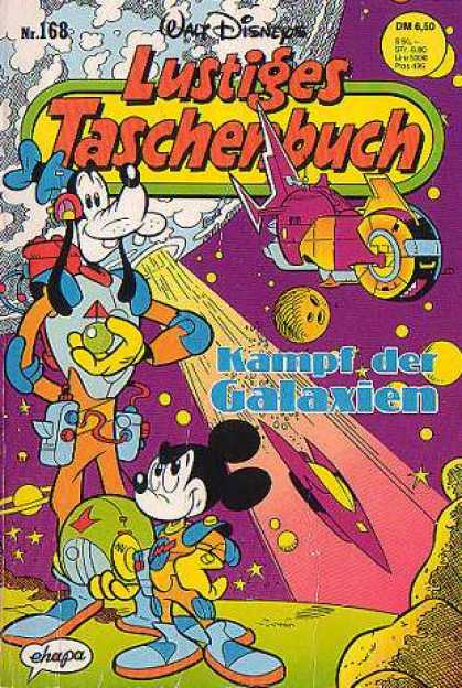 Lustiges Taschenbuch 170 - Space Heros - Intergalactic Inspectors - Planetary Defenders - Galaxy Defenders - Disneys Intergalactic Race To Protect The Planet Earth