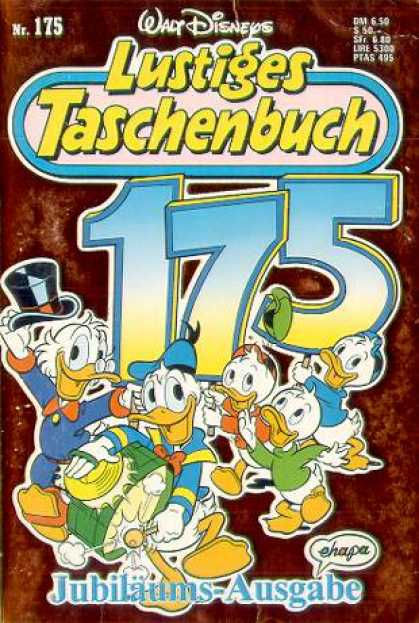 Lustiges Taschenbuch 177 - German - Disney - Uncle Scrooge - Donald Duck - Louie