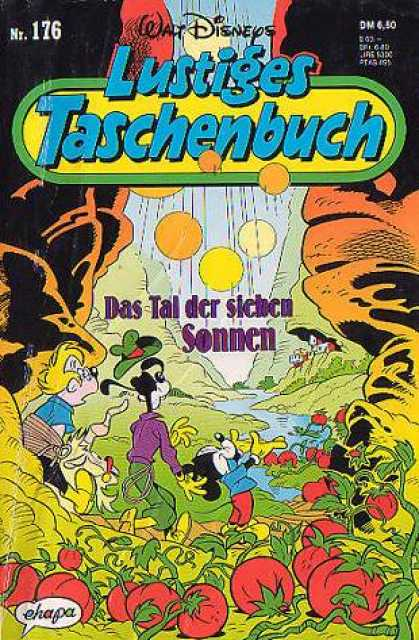 Lustiges Taschenbuch 178 - Mickey Mouse - Goofy - Tomatoes - Stream - Valley
