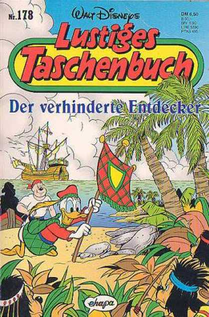 Lustiges Taschenbuch 180 - Trees - Coconut - Sea - Water - Sand
