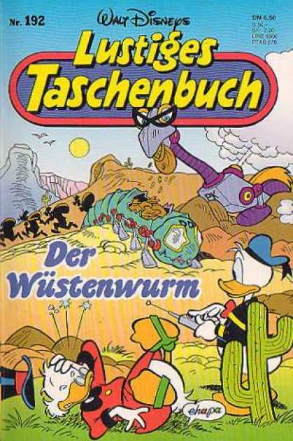 Lustiges Taschenbuch 194 - Cactus - Ducks - Worm - Sun - Mountains