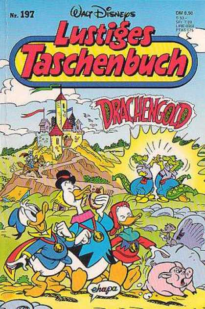 Lustiges Taschenbuch 199 - Disney - Donald Duck - German - Adventure - Children
