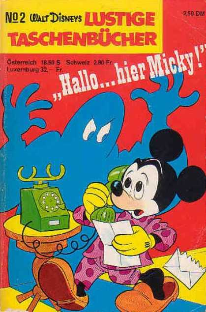 Lustiges Taschenbuch 2 - Disney - Disney Comics - Micky Mouse - Scary - Monster